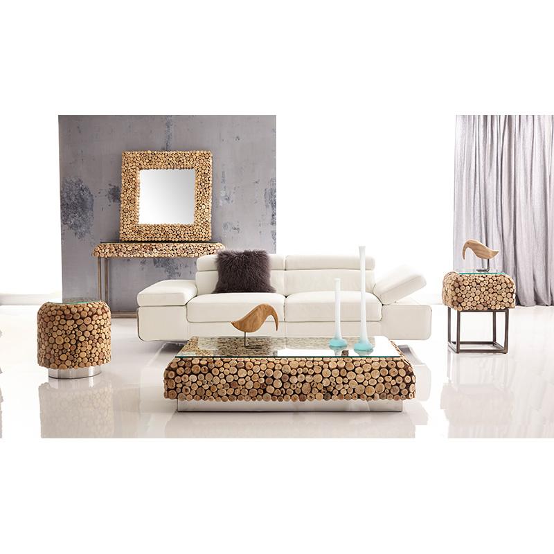 pebble coffee table – bellini modern living